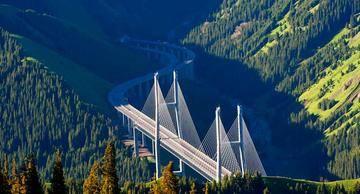 新疆伊犁果子沟大桥,图二