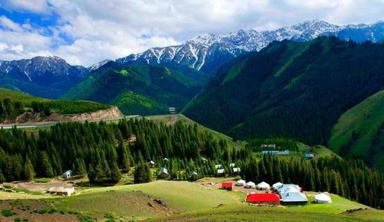 新疆伊犁果子沟,图二