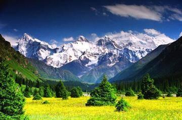 新疆伊犁夏塔旅游区,图一