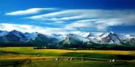 新疆伊犁喀拉峻草原风景区