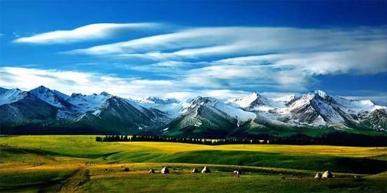 新疆伊犁喀拉峻草原风景区,图三