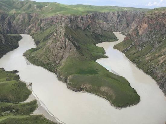 新疆伊犁阔克苏大峡谷风景区,图二