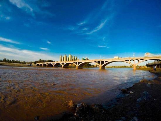 新疆伊犁河,图一