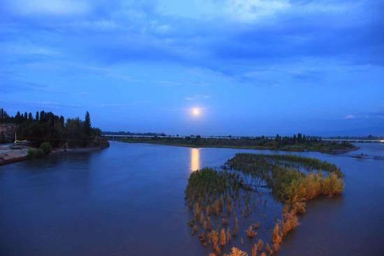 新疆伊犁河,图三