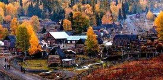 乌鲁木齐白哈巴:西北第一村典型的欧式村寨,图一