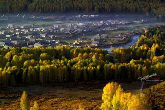 """美丽的禾木镇-中国北方的""""香格里拉""""(多图),图二"""