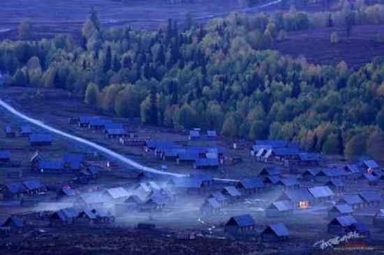 """美丽的禾木镇-中国北方的""""香格里拉""""(多图),图一"""