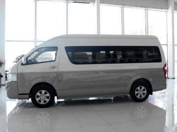 九龙14座商务车