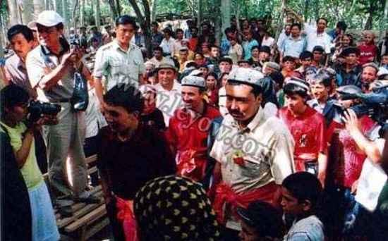 维吾尔族婚礼,图三