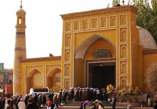 艾提尕尔清真寺(组图),图一