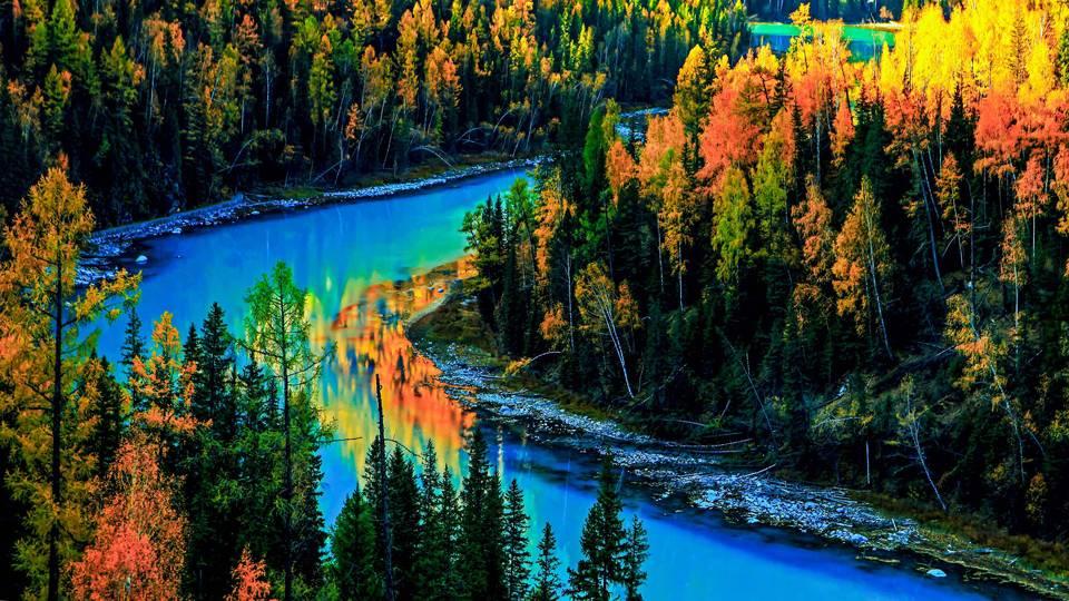 新疆旅游美景精选图片