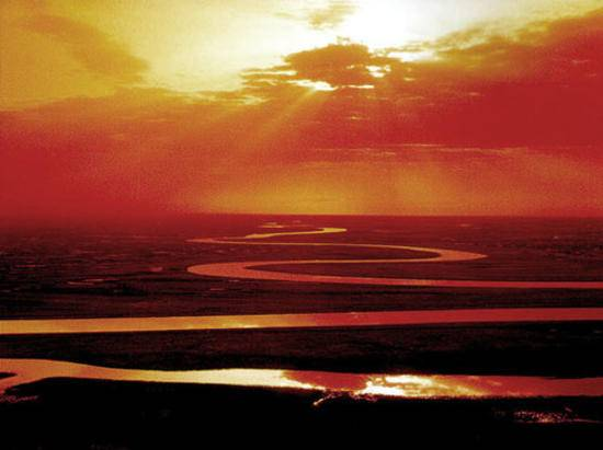中国最长的内陆河,图三