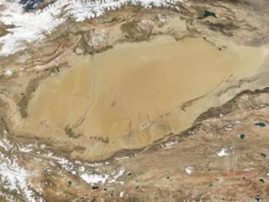 最大的内陆盆地,图一