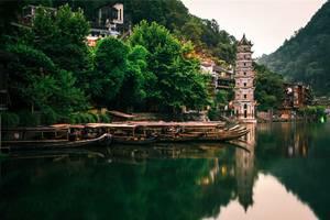 长沙.韶山.张家界.金鞭溪.红石林.凤凰古城双飞6日游
