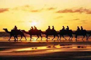 吐魯番鄯善庫姆塔格沙漠高鐵休閑一日游