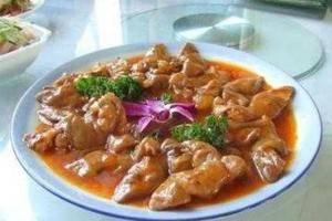 新疆獨特風味美食胡辣羊蹄