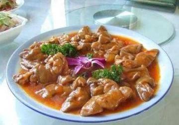新疆独特风味美食胡辣羊蹄