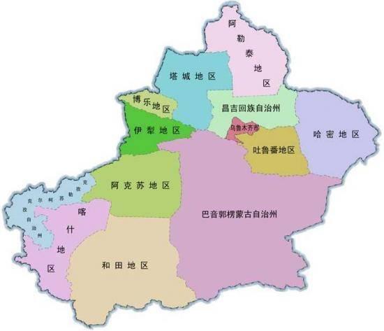 新疆维吾尔自治区概况
